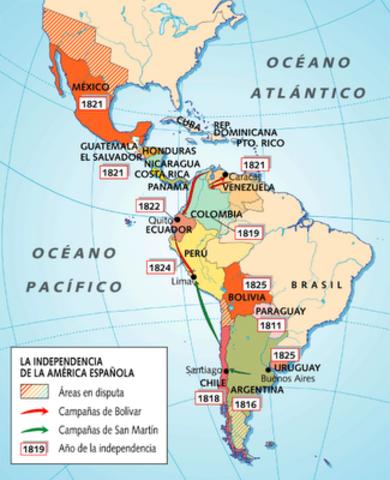 Independencia Latinoamericana