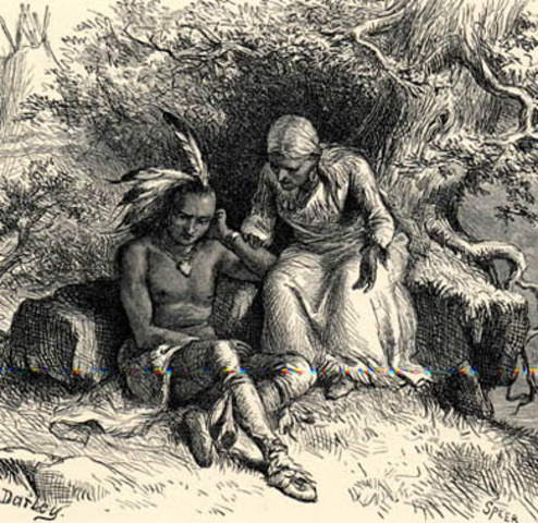 """""""The Song of Hiawatha"""" First Published"""