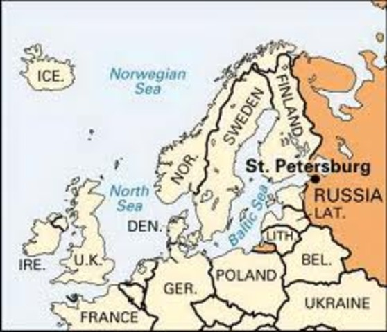 St. Petersburg Founded