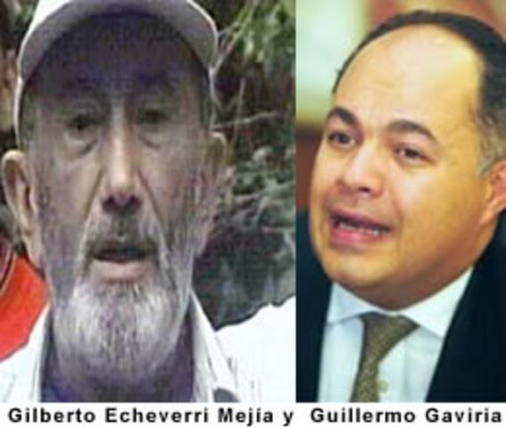 ASESINATOS DE GUILLERMO GAVIRIA Y GILBERTO ECHEVERRI
