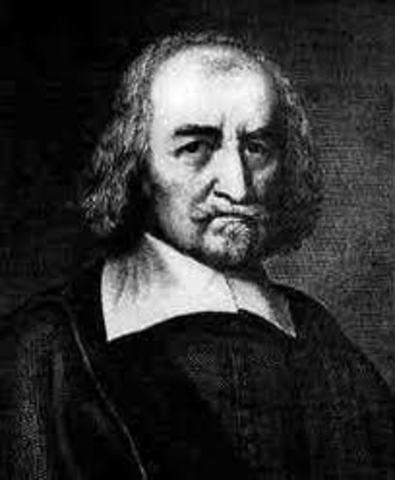 Thomas Hobbes Writes His Book Leviathon