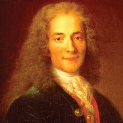 Voltaire is Exiled from Paris