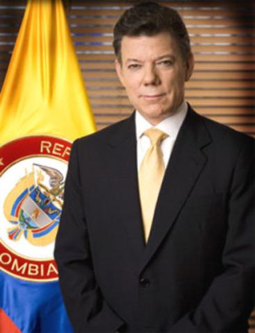 POSECION PRESIDENCIAL DE SANTOS
