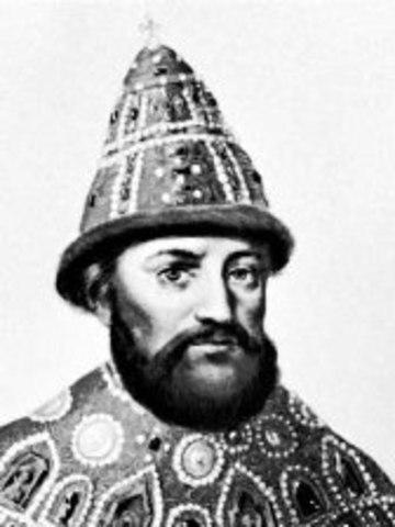 Michael Romanov is chosen as Czar
