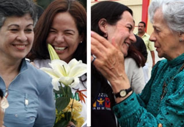 Clara Rojas y Consuelo González de Perdomo son liberadas por las FARC