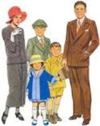 Families averaged 3.5 Children
