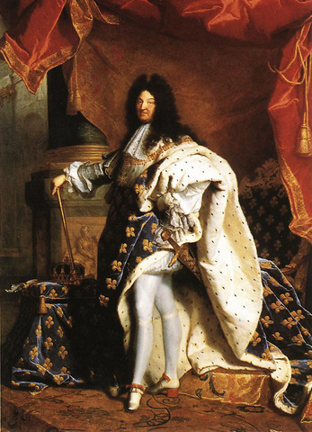 Louis XIV Takes Rule of France