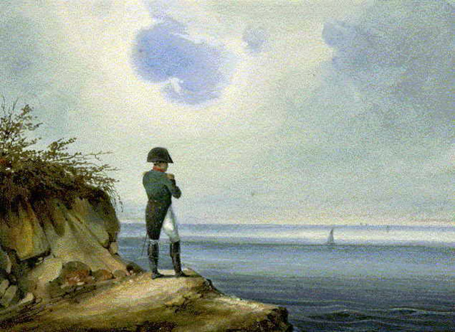 Napoleon Exiled to St. Helena