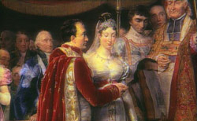 Napoleon Marries Josephine