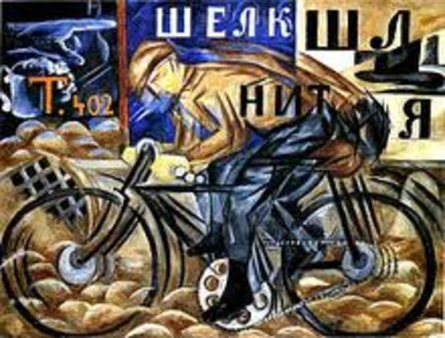 Russian Symbolist Movement ends