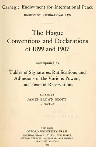 Hague Conventions