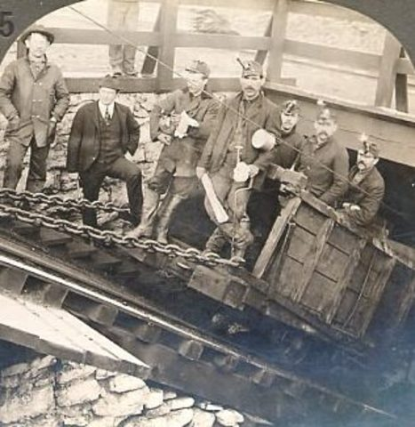 Miners Go On Strike