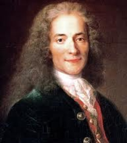 Death of Voltaire