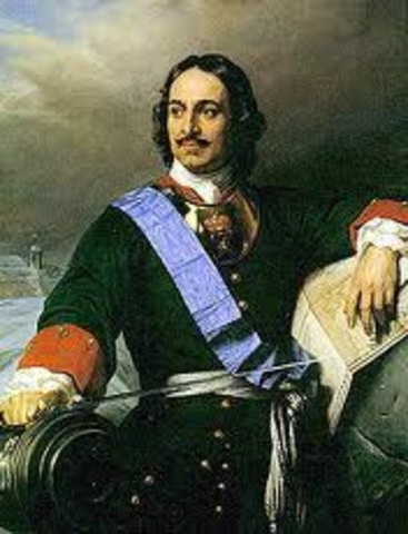 Peter The Great's rule