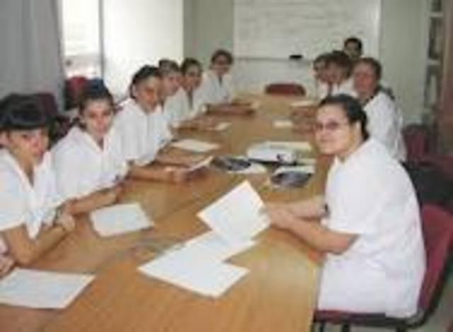 inicio del grado medio auxiliar de enfermeria