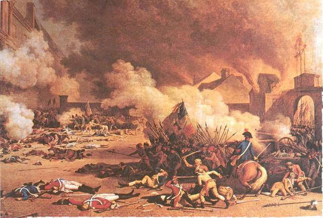 Paris Mob Attacks the Tuileries