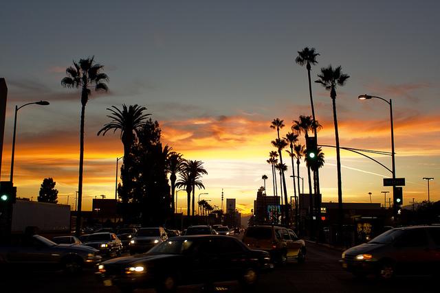 Traslado a Los Ángeles, California