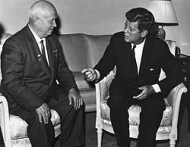 Khruschchev threatens to cut off West