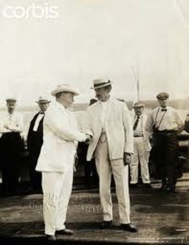 President Theodore Roosevelt Wishing Peary Luck