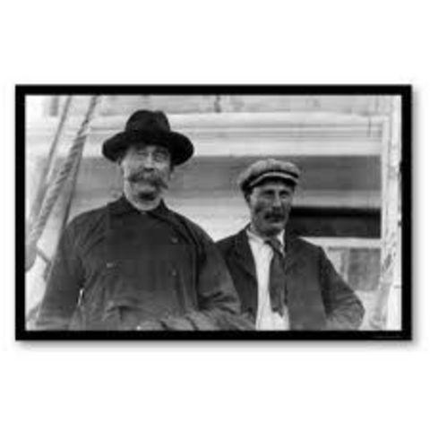 Caption Bartlett left Cape Columbia