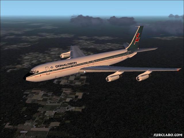 first 707 flight