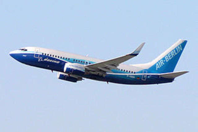 737's maiden flight takes place