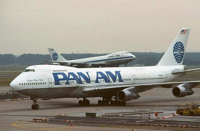 The 747 takes it's maiden flight with pan am