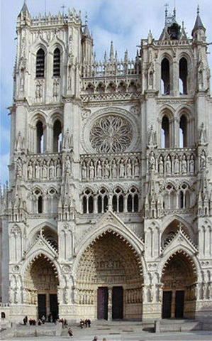 Amiens Cathedral [Amiens, France, b. 1220]