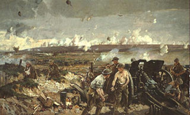 WWI Vimy Ridge