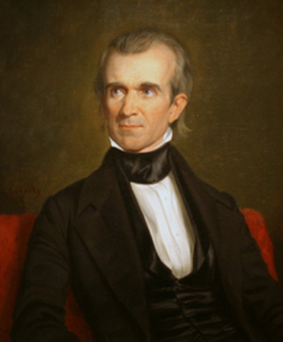 James Polk Elected