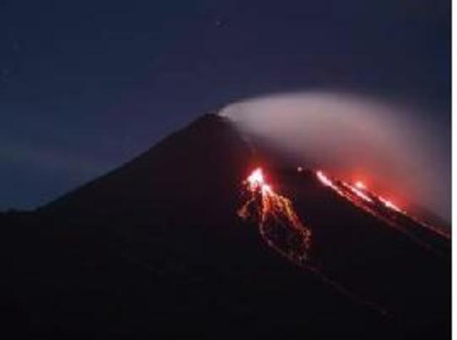 Erupción del Volcan de Pacayá