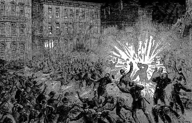 The Haymarket Riot