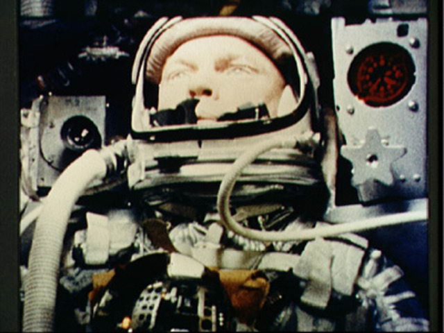 John Glenn Orbits the Earth