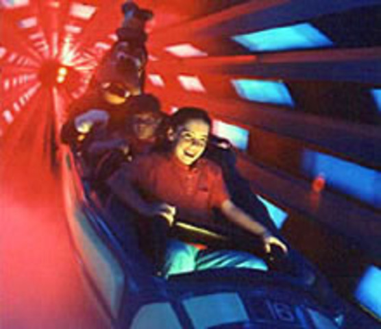 I went to Space Mountain