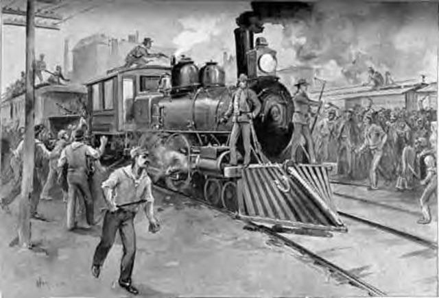 The Great Rail Road Strike
