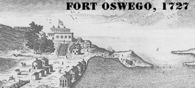 Fort Oswego is captured by the French