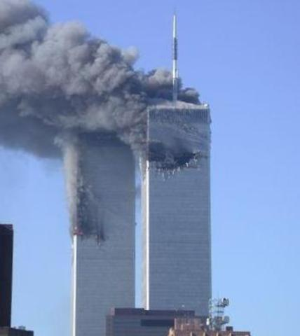 twin towers collapsed