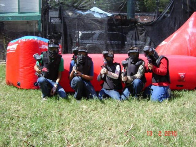 i went to paintball for first time
