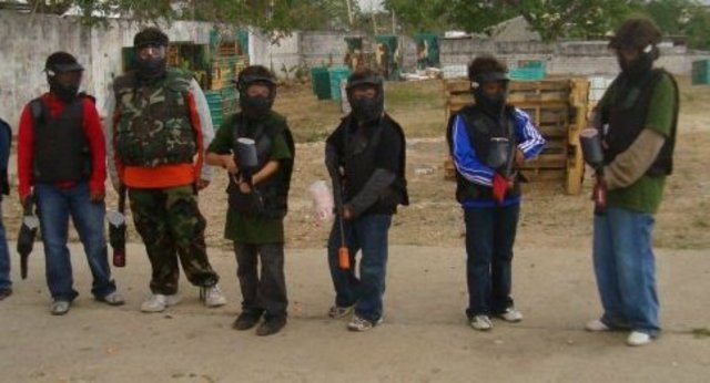 i went to paintballl another time