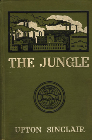 """Upton Sinclair's """"The Jungle"""" Published"""