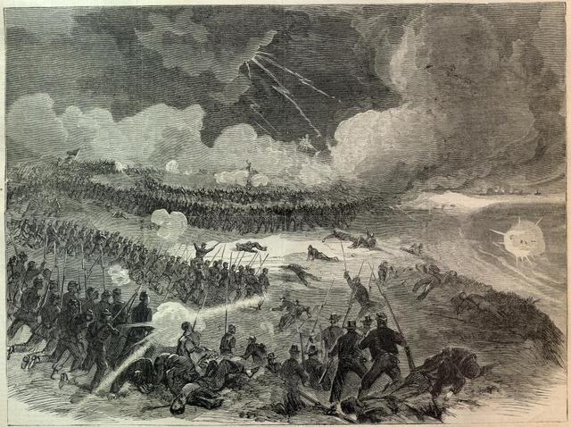 Battle at Fort Wagner