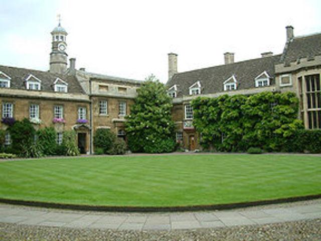 Darwin entró en el Christ's College de Cambridge