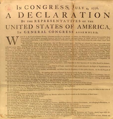 Declaration First Made