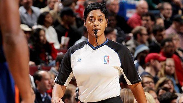 First Woman Referee