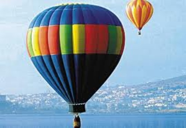 το πρώτο αερόστατο
