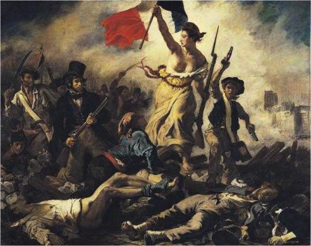 Liberty Leading the People, Eugene Delacroix