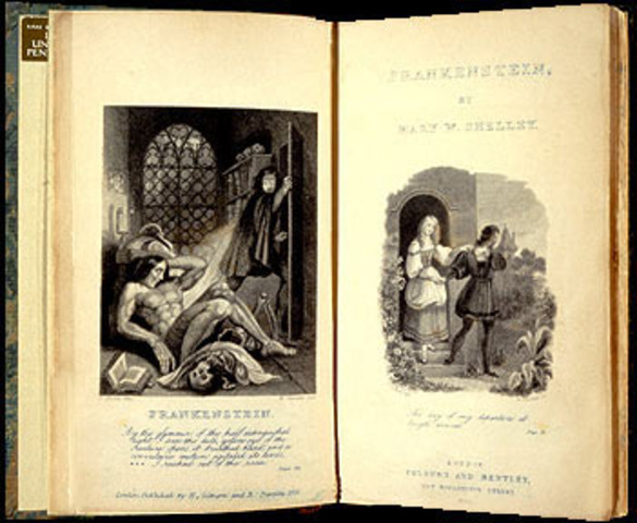 Frankenstein- Mary Shelley