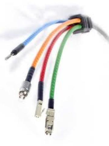 Se inventa la fibra óptica