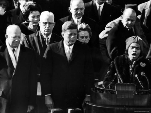 Sang at John F. Kennedy'd presidential Inauguration