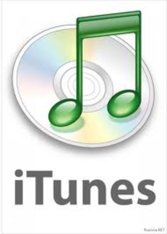 iTunes digital software introduced.